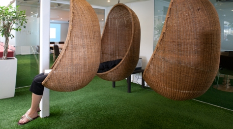 Innocent's iconic Astroturf grass in place of carpet has become an iconic talking point